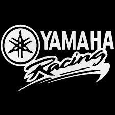 Yamaha Racing Vinyl Decal Sticker