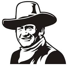 John Wayne V4 Decal Sticker Peel And Stick Sticker Grap Https Www Amazon Com Dp B075182gts Ref Cm Sw R Pi John Wayne Silhouette Stencil Silhouette Vinyl