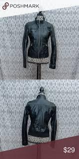 xhilaration leather jacket leather