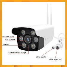 Camera wifi giám sát ngoài trời Yoosee, camera giám sát với 6 đèn led Full  HD - hồng ngoại quay đêm