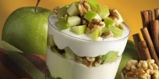 apple walnut yogurt parfait mealgarden