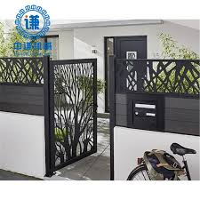 China Metal Fence Designs Cnc Aluminum Laser Cut Carver Panel China Laser Cutting Fence Laser Cut Fence