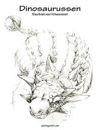 Amazon Com Dinosaurussen Kleurboek Voor Volwassenen 1 Volume 1
