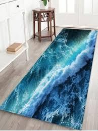 print flannel floor runner rugs mat