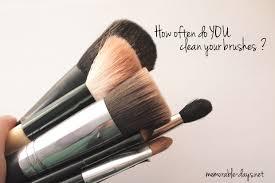 clean my makeup brushes saubhaya