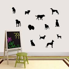 Shop Small Dog Silhouette Set On Sale Overstock 14336659