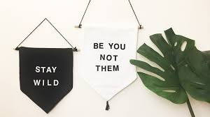 whatdaymade diy wall hanging banner