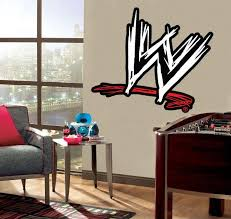Wwe Logo Wall Sticker Decal C664 Decalz Co