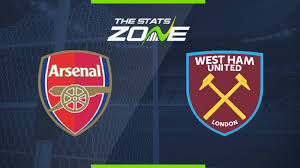 2019-20 Premier League – Arsenal vs West Ham Preview & Prediction - The  Stats Zone