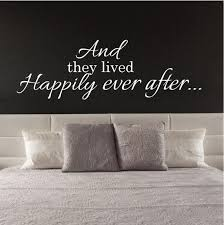 Wall Sticker Love Quote Happily Ever After Fixate