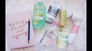 garnier skin care routine ft vanity
