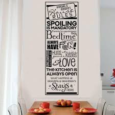 Winston Porter Grandparents House Rules Wall Decal Wayfair