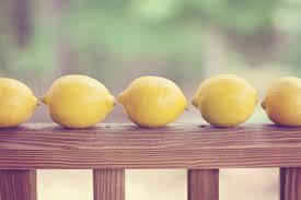 uses for lemons cleaning freshening