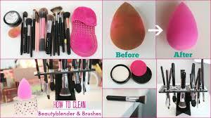 clean beauty blender sponge brushes