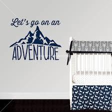 Let S Go On An Adventure Vinyl Wall Decal Baby S Room Wall Sticker Decor 2 Ur Door