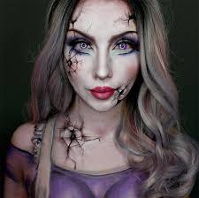 how to do broken doll makeup saubhaya