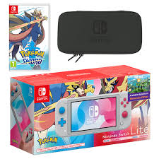 Nintendo Switch Lite (Zacian & Zamazenta Edition) Pokémon Sword ...