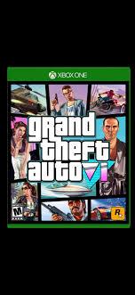 Fan Made Grand Theft Auto VI Cover. : GTA6