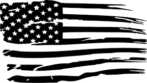 Distressed American Flag Decal Sticker 94