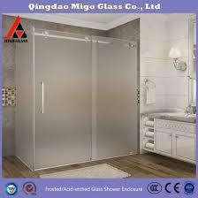 inch tempered glass shower door