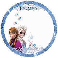 Frozen Toppers Para Imprimir Gratis Etiquetas De Frozen