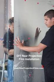 diy rear projection film part 2