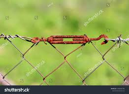 Rusted Old Vintage Wire Fence Grey Stock Photo Edit Now 1398966788