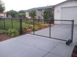Fencing Contractor Roll Gates Chain Link Gates Driveway Gate Diy Driveway Gate Black Chain Link Fence