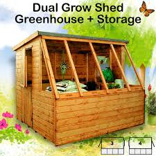garden sheds dual potting shed