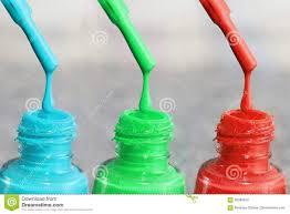 Butelka Laka Dla Paznokci Kobiety S Akrylowa Farba Gel Farba