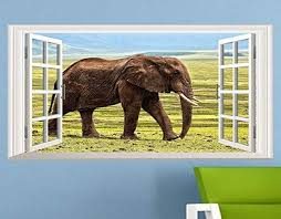 Faux Window Wall Decals