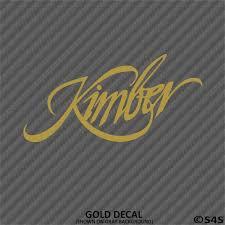 Kimber Firearms Vinyl Decal S4s Designs