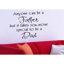 Shop Just Words It Takes Someone Special To Be A Dad Wall Art Sticker Decal Overstock 11626768