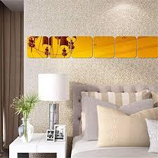 New Wall Home Decor Decal Sticker Stickers 3d Art Vinyl Mosaic Mirror Wallpaper