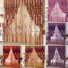 Cartoon Voile Blackout Curtain For Kids Room Window Curtains Tulle Sheer For Sale Online Ebay