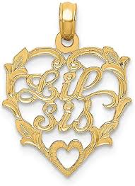 fb jewels 14k yellow gold big sis