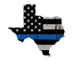 Texas State U2 Cop Thin Blue Line Vinyl Yeti Tumbler Decal Sticker Ebay