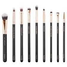 lux vegan eye makeup brush set