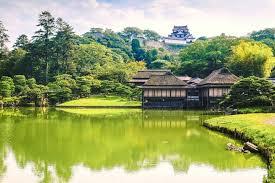 the art of shakkei or borrowed scenery