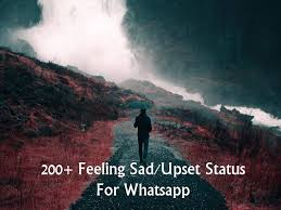 200 feeling sad upset status for whatsapp