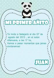 Tarjetas Invitacion Y Recuerdo Primer Anito X 10 Unidades 130