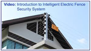 Intelligent Electric Fence Security Systems Introduction Video Youtube