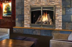 wood stove gas fireplace installation