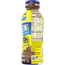nesquik protein plus chocolate low fat