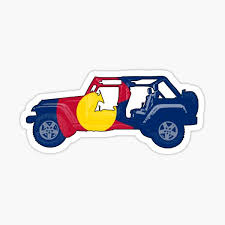 Colorado Flag Stickers Redbubble