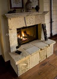 the perfect feng shui stone fireplace