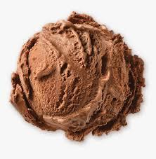 brand chocolate ice cream scoop