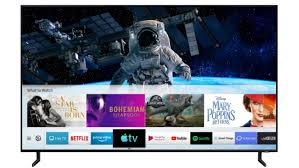 manufacturer to launch the apple tv app