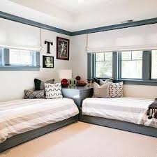 Interior Design Inspiration Photos By Evars And Anderson Small Kids Room Twin Beds For Boys Shared Kids Room
