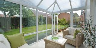small black conservatory french doors
